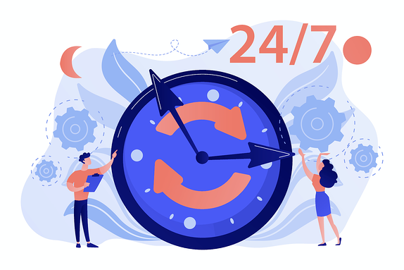 Chatbots allow you to qualify and generate leads 24/7 around the clock.