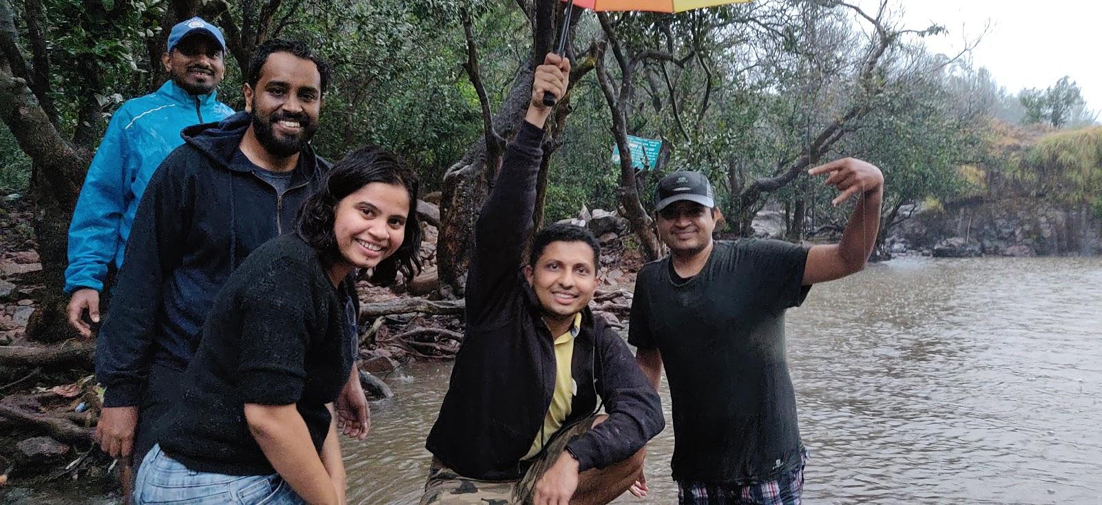 Insent team sightseeing in Mahabaleshwar
