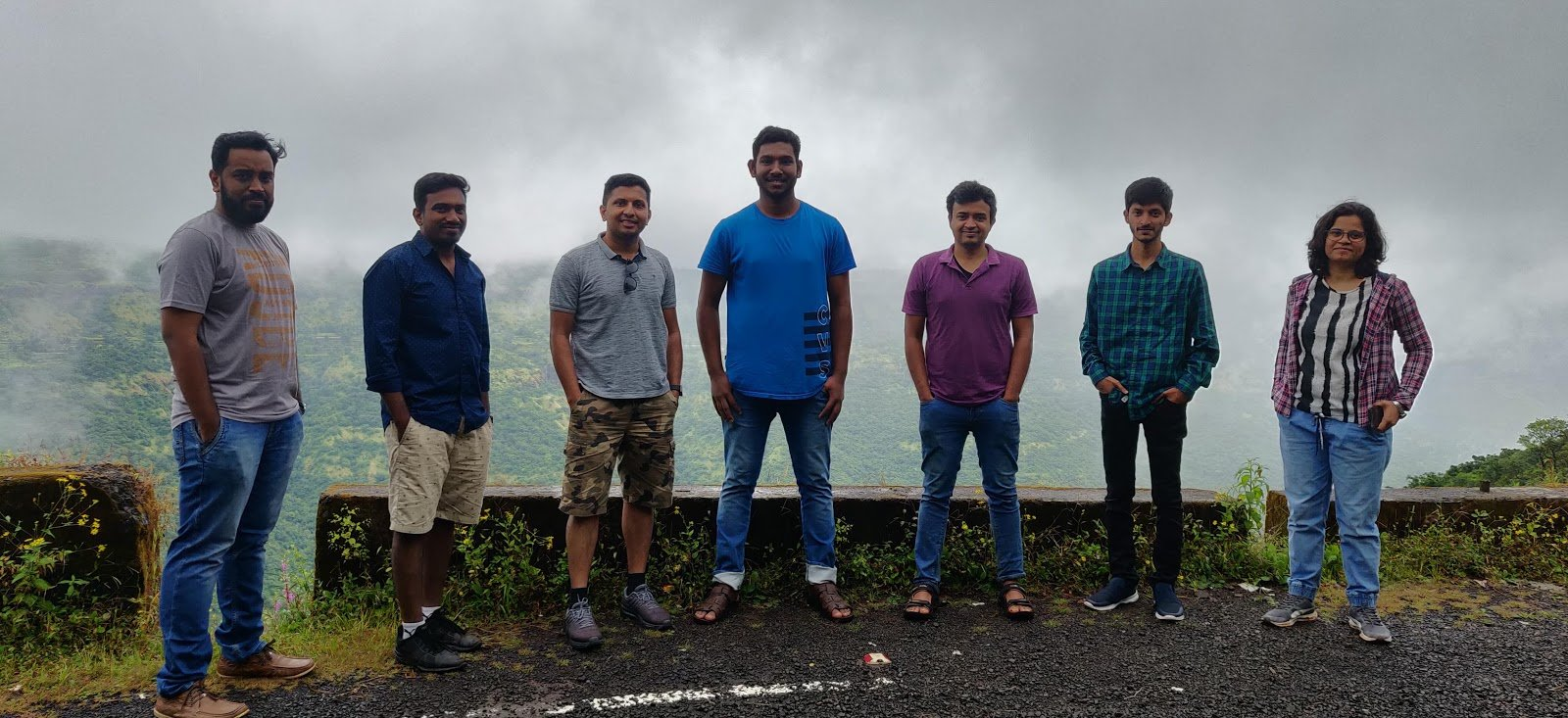 insent team sightseeing in Mahabaleshwar